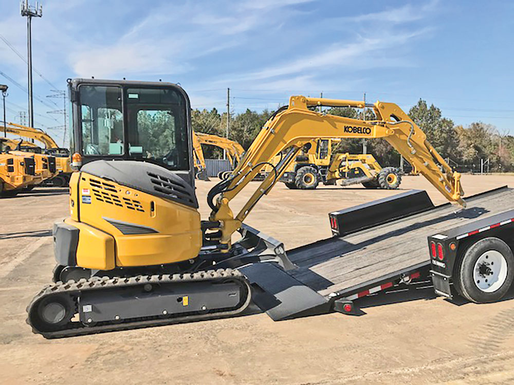 Learn the Dos and Don'ts of Trailering Compact Excavators | Compact