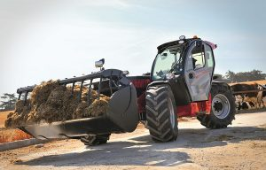 Manitou Launches NewAg MLT Telehandlers for the Agricultural Industry