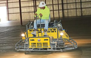 Clockwork Concrete Pour: Achieving a Quality Floor Depends on Quality Finishing Equipment