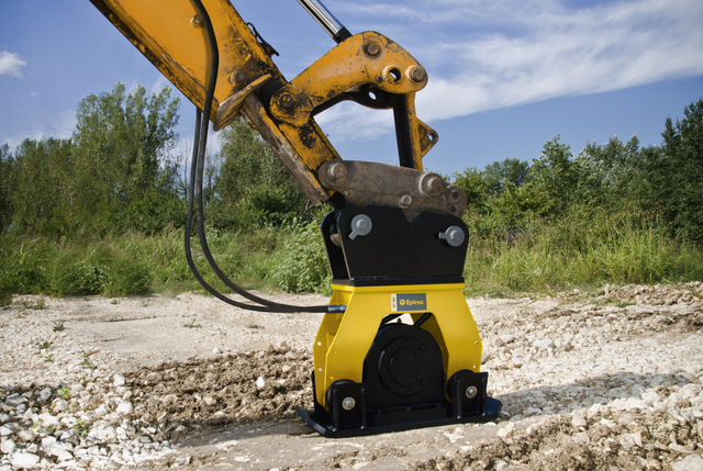 Excavator Turned Compactor: A Quick Q&A About Hydraulic