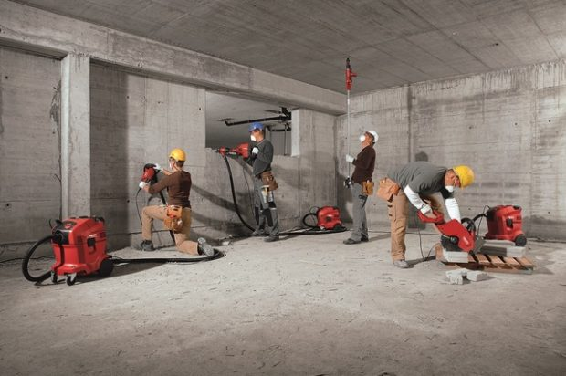 Dust Collection Strategy: Hilti's Expanded Universal Vacuum Cleaner Portfolio