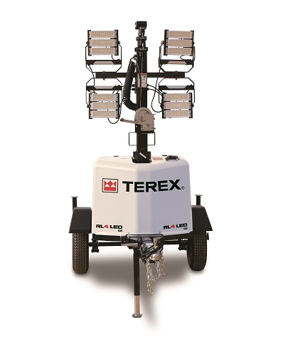 Terex RL4 LED Gas Light Tower