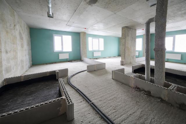 apartment construction renovation concrete