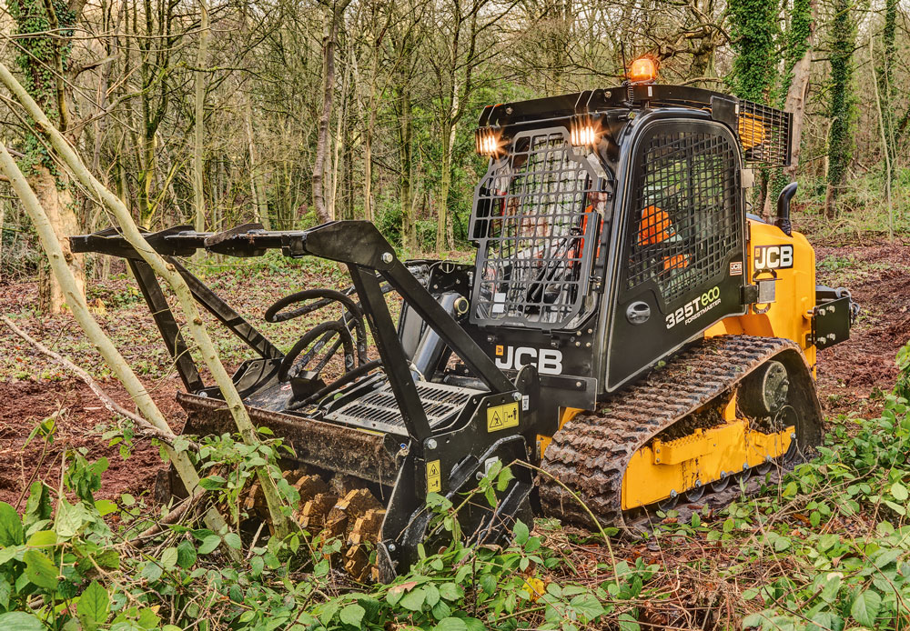 Brush Up Learn How To Match A High Powered Brush Cutter To A Skid