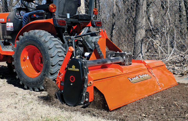 How Do You Size and Buy the Right Rotary Tiller Attachment
