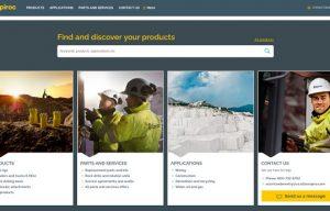 Epiroc launches new website