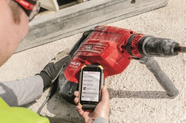 Hilti Connect App Brings Hassle-Free, Digital Tool Management to the Jobsite