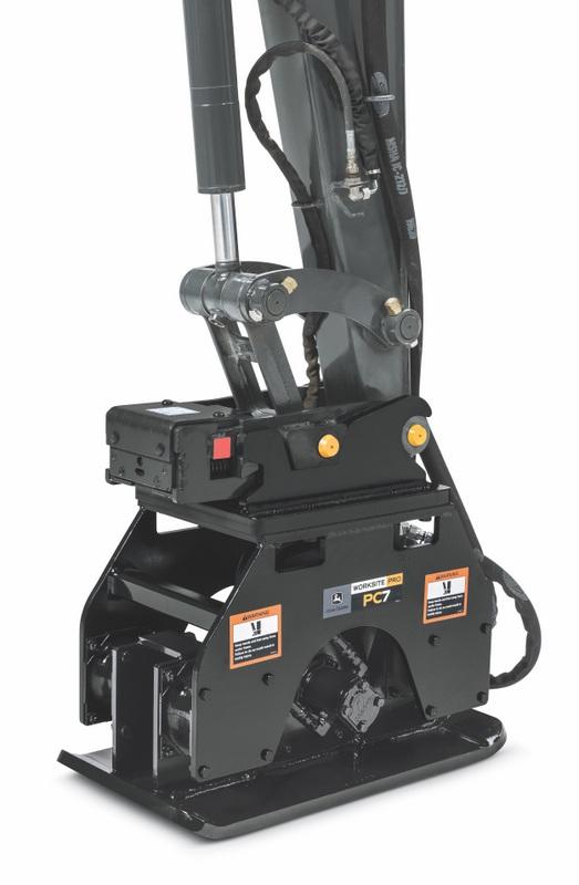 John Deere Backhoe Attachment >> John Deere Introduces Compact Excavator/Backhoe Vibratory ...