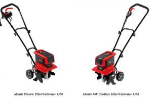 Mantis Introduces New Line of Electric and Cordless Tillers