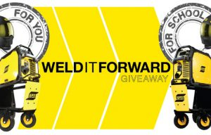 ESAB Announces Weld It Forward Giveway to Celebrate National Welding Month (Enter Here!)