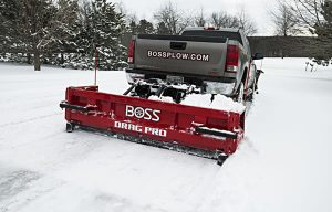 BOSS Introduces the DRAG PRO Back Blade Plow for Snow Contractors