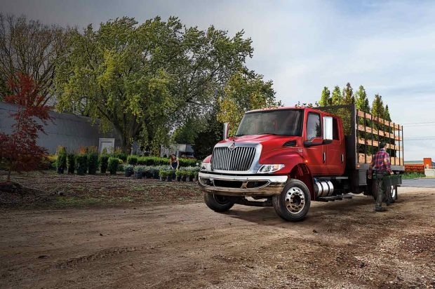 International Truck Unveils the MV Series at the 2018 Work Truck Show
