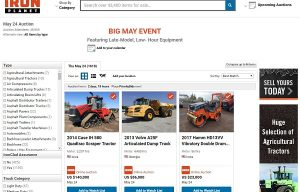 IronPlanet hosts Big May auction event on May 24
