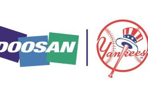 Doosan announces multi-year partnership with the  New York Yankees
