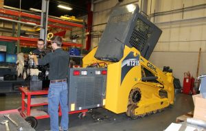Behind the scenes at Gehl: We visit the Manitou Group HQ, see how a skid steer is made