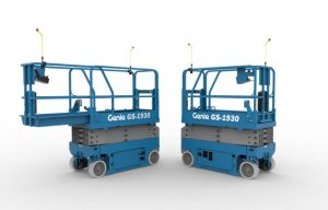 Genie Lift Guard Contact Alarm Prototype for Slab Scissors/Mast Lifts Highlighted for OSHA's National Safety Stand-Down Week