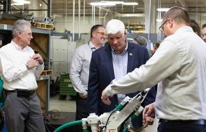 Congressman Gibbs Visits Minnich Mfg. for AEM 'I Make America' Event