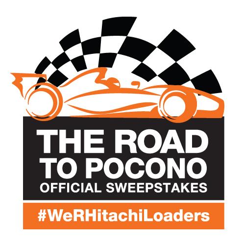 Hitachi The Road to Pocono logo