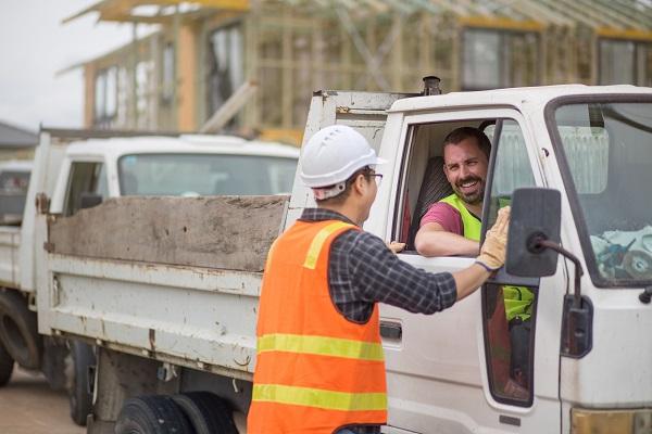building site,teamwork,transport