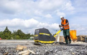 Bomag BPR 70/70 D Reversible Plate Compactor Features New Comfort Handle Design