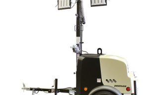 Doosan Portable Power introduces new compact light towers with industry-leading runtime