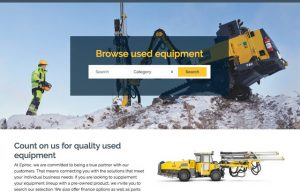 Epiroc Launches Marketplace Website for Used Equipment