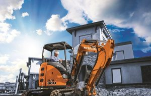 Hitachi extends warranty for compact excavator line