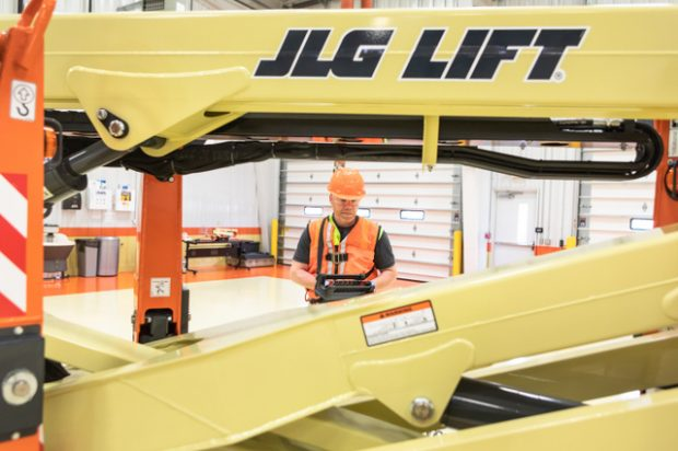 Editor at Large: Operating a Compact Crawler Boom and Other Cool Equipment at JLG's Headquarters in McConnellsburg, Pa.