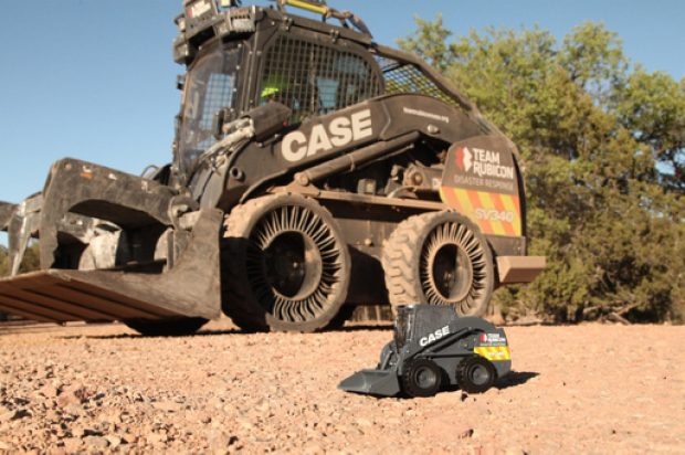 Case Debuts Die Cast Model of the Case/Team Rubicon SV340 Skid Steer Loader 'The Beast'