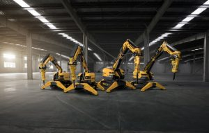 Brokk Introduces Four Next-Generation Demolition Machines