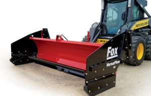 New Fox VersaPlow Skid-Steer Mounted Plows Offer Multiple Plowing Functions