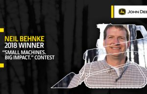 "John Deere Names Black Forest Volunteer Winner of ""Small Machines. Big Impact."" Contest"