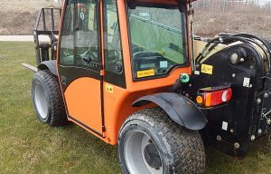 Turf Tires Now Available for JLG's G5-18A Telehandlers
