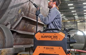 Walter Surface Technologies Reveals New & Improved MIG and TIG Weld Cleaning System SURFOX 305