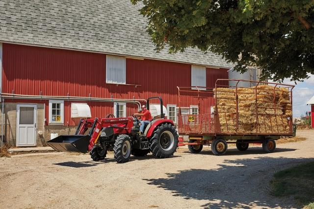 Case IH farmall utility tractor