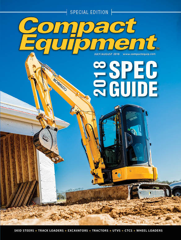 Compact Equipment spec guide cover