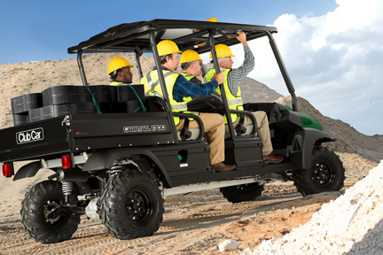 Club Car Carry All 1700 4WD Construction