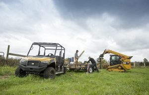 Caterpillar Introduces 5-Seat Utility Vehicles
