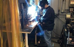 Volvo CE's welding intern shows outstanding performance at SkillsUSA Championship 2018
