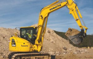 Komatsu Excavators Summarized — 2018 Spec Guide