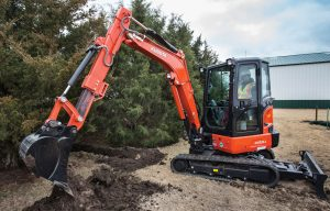 Kubota Excavators Summarized — 2018 Spec Guide