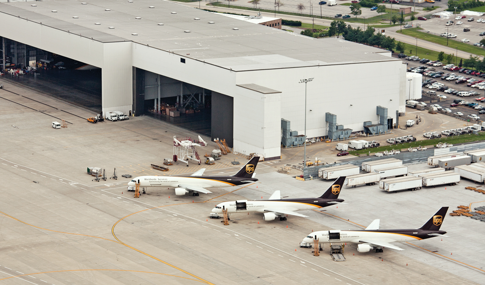 UPS's Worldport facility