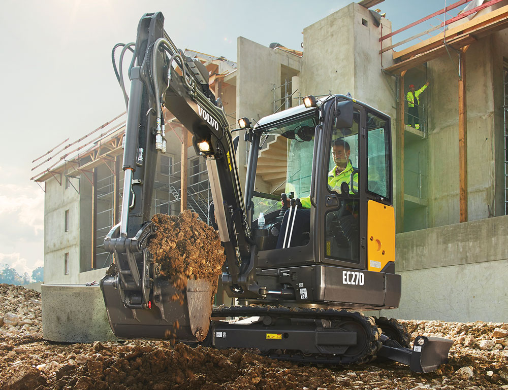 Volvo Excavators Summarized 2018 Spec Guide Compact Equipment