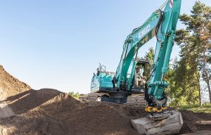 Engcon, Kobelco and Leica Geosystems form unique team