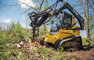 John Deere Adds Stump Shredder to Worksite Pro Attachments Lineup