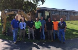 Cleveland Bros Donates Mini Excavator to Lebanon County Career and Technology Center