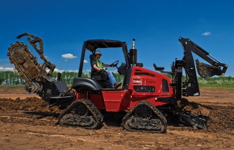A Cut Above: Sit-On Trenchers Offer a Versatile View of the Jobsite