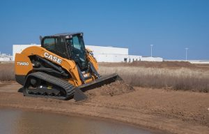 CASE Introduces TV450 Compact Track Loader (10,610-lb Vertical-Lift Machine)