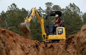 Caterpillar Releases Next Generation of Small Mini Excavators with Standard Premium Features like an LCD monitor and Stick Steer