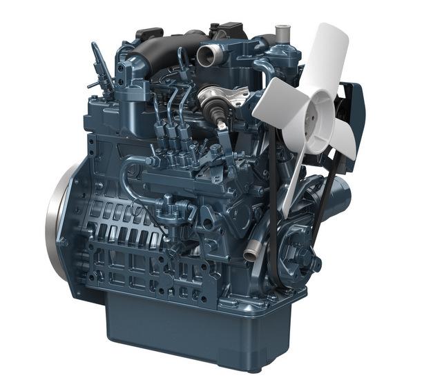 Kubota D902-T Engine